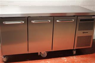 Gram F1807 CSH 3 Door Freezer reconditioned