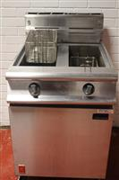 Falcon G3865 twin tank gas fryer reconditioned