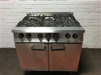 Falcon G2101 6 burner range reconditioned