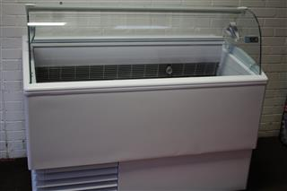 Isa Ice Cream Display Freezer reconditioned